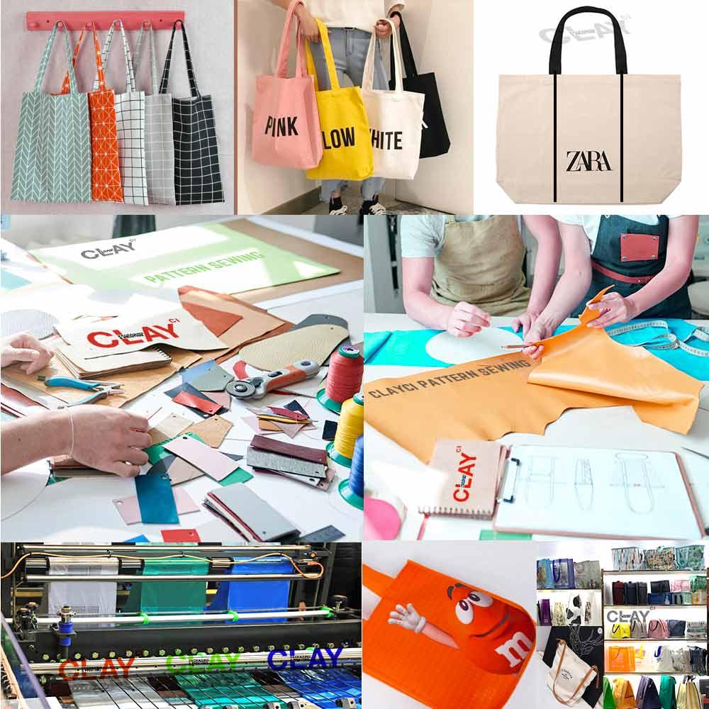โรงงานรับผลิตถุงผ้า ขายถุงผ้า พกง่าย ใช้ง่าย ลายกราฟฟิคสวย ถือหิ้วแล้วเท่ห์ อินเทรนด์ รับผลิตกระเป๋าผ้า รับผลิตถุงผ้าลดโลกร้อน รับผลิตถุงผ้ารักษ์โลก รับผลิตกระเป๋าผ้าดิบ รับผลิตถุงรีไซเคิล ติดต่อไลน์ : @clayci โทร : 0887998645 ถุงผ้าดิบเกรด A ของเราเนื้อนำเข้า ดีมาก รับผลิตถุงให้อีเกีย IKEA สามารถเลือกแบบ Pattern การเย็บ การปิดซิป ร่วมถึงกำหนดน้ำหนักที่สามารถบรรจุ ได้ . รับผลิตถุง รูปแบบ Harrods Laminated Shopper bag รับผลิตถุงขนาดใหญ่ ไซต์ JUMBO ได้ หรือ กำหนดไซต์มาเอง กระเป๋าผ้าดิบทรงแบน กระเป๋าผ้าดิบทรงกล่องเหลี่ยม กระเป๋าผ้าดิบทรง BALENCIAGA กระเป๋าทรง OFF-WHITE หรือ ออกแบบมาเองได้ รับผลิตกระเป๋า Cooler คูลเลอร์แบ็ค, รับผลิตกระเป๋าเก็บความเย็น . สามารถผลิตได้ตามแบบของลูกค้า มีบริการออกแบบจากนักออกแบบชาวญี่ปุ่น . พิมพ์ดิจิตอลละเอียดคมชัด ออกแบบลวดลายเองได้ Green Bag OEM, TOTE BAG OEM, Bag Manufacturing อีกทั้งยังรับผลิตกระเป๋าใสของ CELINE รับผลิตกระเป๋าโฮโลแกรม Hologram รับผลิตถุงแม่ค้าเรียบหรู PREMIUM มีซิป รับผลิตถุง PARIS ปารีส รับผลิตถุง NEWYORK นิวยอร์ค . รับผลิตถุงทุกชนิดพิมพ์แบรนด์คุณ ผลิตถุงกระดาษและบรรจุภัณฑ์กระดาษทุกรูปแบบอย่างครบวงจร ถุงช้อปปิ้ง ถุงผ้า พลาสติก กระดาษคราฟ ซองกำมะหยี่ สปันบอนด์ รับผลิตถุงแม่ค้า รับผลิตถุงแม่ค้าแบบมีซิป รับผลิตถุงช้อปปิ้ง Non-Woven Bag OEM, Laminated – Non Woven Fabric , ถุง PP SACK รับผลิตถุงสายรุ้ง รับผลิตถุงปุ๋ยสำหรับแม่ค้า สามารถพิมพ์ได้ถึง 9 สี ทำได้ทุกขนาดและไดคัทได้ทุกรูปแบบ . วัสดุ Material ที่ให้เลือก – Cotton / Canvas / Jute / Hemp – Non woven polypropylene A – Laminated (Woven / Non-woven pp Fabric) – Polyester / (ripstop) Nylon / Oxford – Recycled PET / RPET – PVC / PU leather C *เทคนิคการพิมพ์ตกแต่งแบบพิเศษ: – Ink imprint deep / Embroidery – Matte / Glossy / Metallic / Glitter – Locations: Side or Gusset – Colors: PMS/CMYK – Max # of Colors: 9 – Area Size: 9″W x 9″ H – Screen/Transfer/Sublimation/Offset . มีประสบการณ์การทำกระเป๋าให้กับบริษัทในโซนยุโรป ญี่ปุ่น อเมริกา และ มากกว่า 3,200 ลูกค้าทั่วโลก ระยะเวลาการสั่งผลิตสามารถติดต่อสอบถามในไลน์ เพราะ แต่ละรูปแบบใช้เวลาที่ต่างกัน